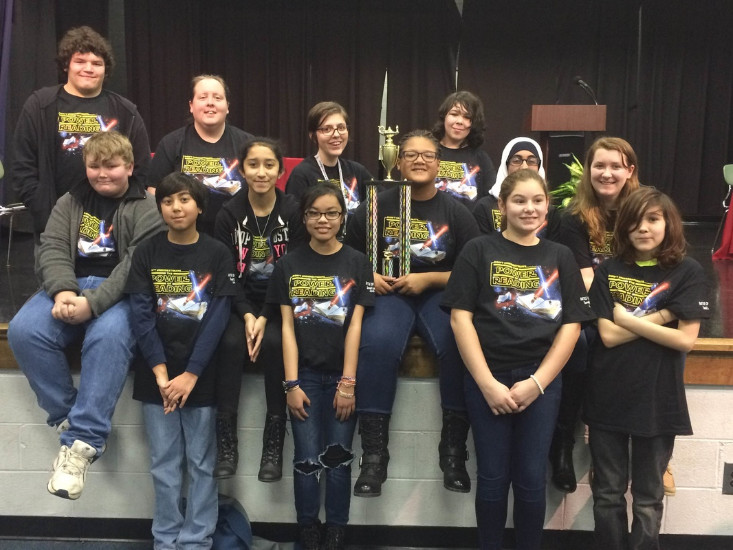 Battle of the Books team